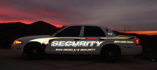security patrol service in san diego california
